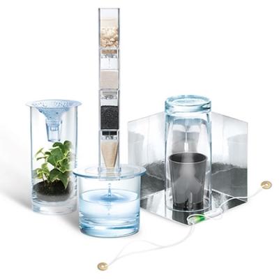 4M綠色科學Clean Water Science環保淨水器濾水器00-03281(水循環原理)Green Science綠教具