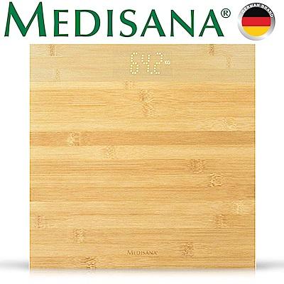 德國Medisana 簡約竹質體重計