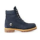 Timberland 男款海軍藍皮革Icon靴 | A1U89019