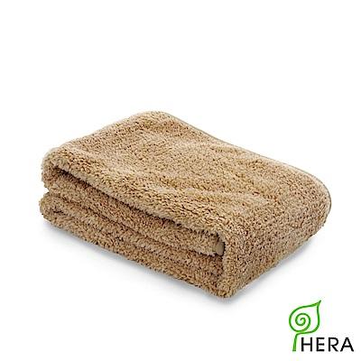 HERA 3M專利瞬吸快乾抗菌超柔纖運動巾-暖卡其