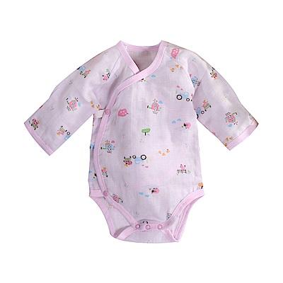 印花薄款純棉護手連身衣 b0172 魔法Baby