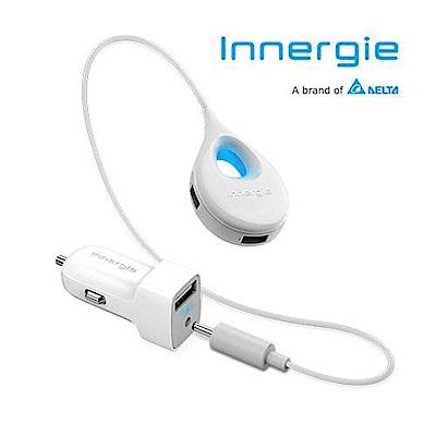 台達電 Innergie PowerCombo Go Hub 1+3延長智能USB極速車充