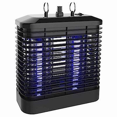 KINYO 8W雙燈管UVA紫外線電擊式捕蚊燈