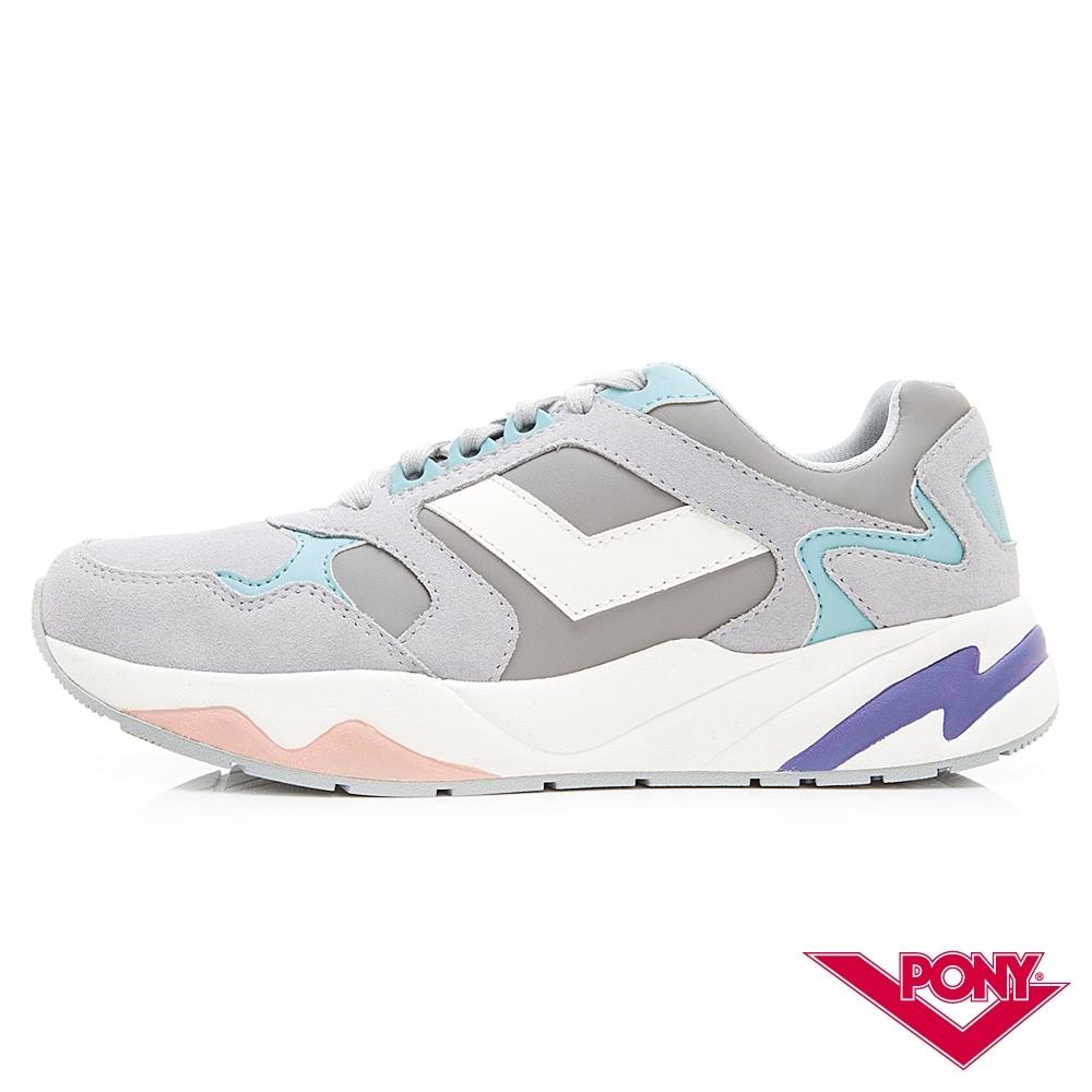 【PONY】Modern系列 復古慢跑鞋 運動鞋 潮流 舒適 球鞋-女-灰
