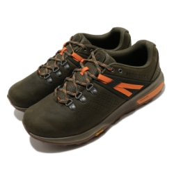 Merrell 戶外鞋 Zion Peak 低筒 運動 男鞋 登山 越野 耐磨 黃金大底 緩震 綠 棕 ML035349