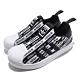 adidas 休閒鞋 Superstar 360 C 襪套式 童鞋 愛迪達 三葉草 貝殼頭 滿版logo 中童 黑 白 EF6644 product thumbnail 1
