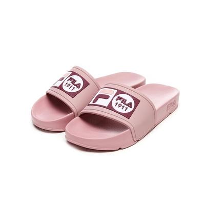 FILA POP SLIDE 男/女拖鞋-藕粉 4-S351V-555