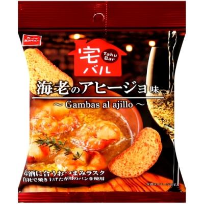 OYATSU 蒜蝦風味麵包餅乾(30g)
