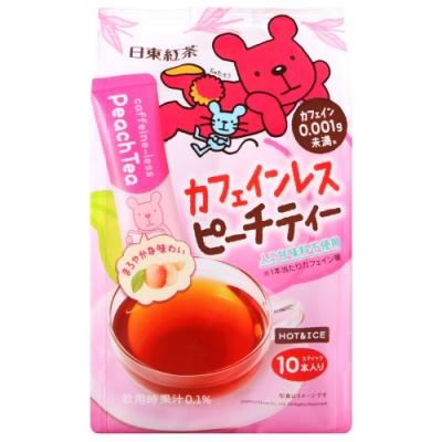 日東紅茶 日東水蜜桃風味茶(110g)