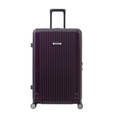 【CENTURION百夫長】拉鍊款27吋U_S_MIA邁阿密紫行李箱