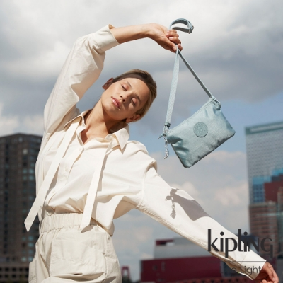 Kipling 寧靜海洋藍三夾層配件包-CREATIVITY XB