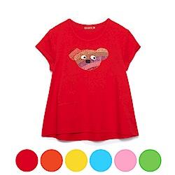 WHY AND 1/2 長版棉質萊卡上衣-親子裝 11Y~14Y以上 多色可選