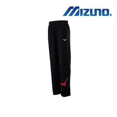 Mizuno 美津濃 男針織運動長褲 黑X紅 32TD903396