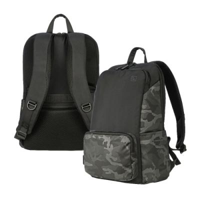 TUCANO Terras Camouflage 16吋時尚減壓商務後背包 迷彩灰