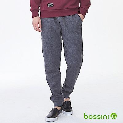 bossini男裝-厚棉束口長褲02灰