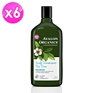 AVALON ORGANICS 茶樹頭皮調理精油洗髮精(325ml/11oz)X6