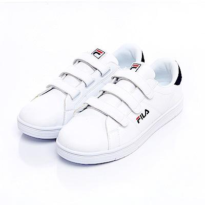 FILA #水果蘇打 潮流復古鞋-白丈青 4-C905S-113