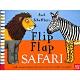 Flip Flap Safari 非洲動物大合體精裝翻頁書(美國版) product thumbnail 1