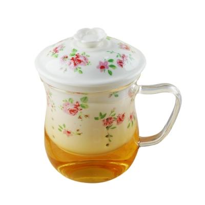 Caldo卡朵生活 泡茶獨享耐熱曲線杯350ml