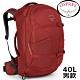 Osprey Farpoint 40L 寶石紅 自助旅行背包/Travel Pack Carry/登機包/旅行背包/雙肩背包/肩帶可收納 product thumbnail 2