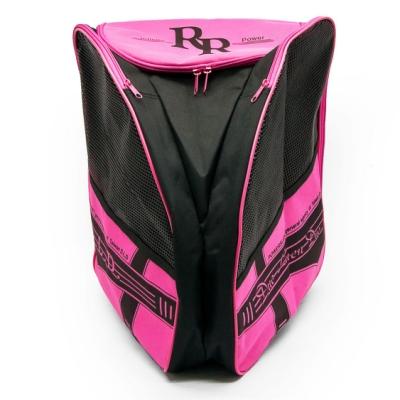 DLD多輪多 專業直排輪 溜冰鞋 太空背包 粉紅