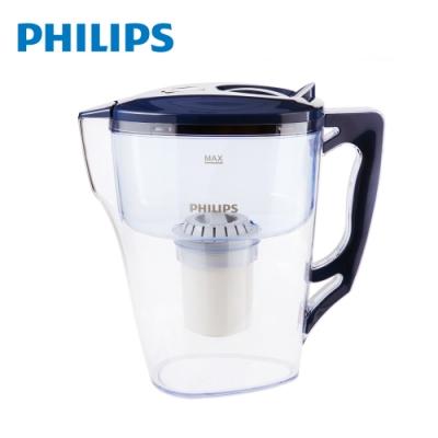 PHILIPS 飛利浦 超濾帶計時器3.5L濾水壺-藍 AWP2921