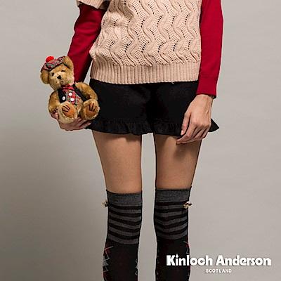 【Kinloch Anderson金安德森女裝】荷葉緄邊毛料短褲-2色 @ Y!購物