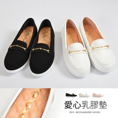 山打努SANDARU-懶人鞋 金線素面樂福鞋
