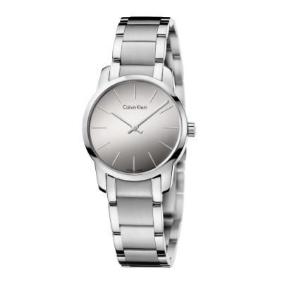 Calvin Klein CK極簡質感三針腕錶(K2G23148)31mm