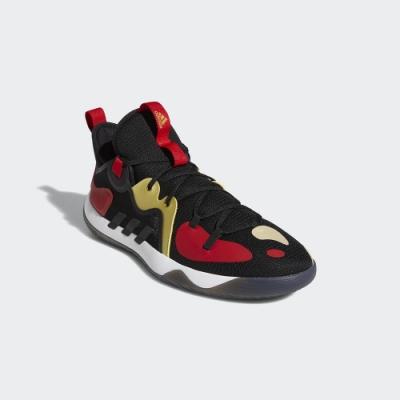 ADIDAS 籃球鞋 緩震 包覆 運動鞋 男鞋 黑紅 FZ1386 Harden Stepback 2