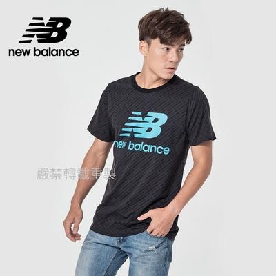 【New Balance】基本短袖T恤_男性_深灰色_MT11532VLS