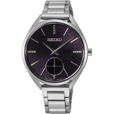 SEIKO 精工 CS 優雅時尚小秒針女錶(SRKZ51P1)