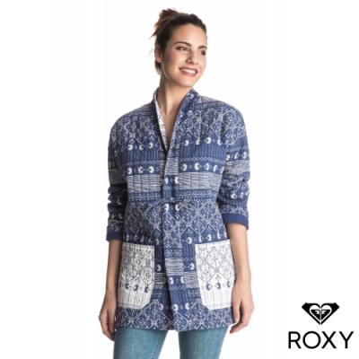 【ROXY】BALEINE BAY 純棉外套 海軍藍