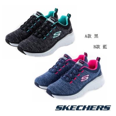 SKECHERS 女 運動系列 FASHION FIT-12716兩色