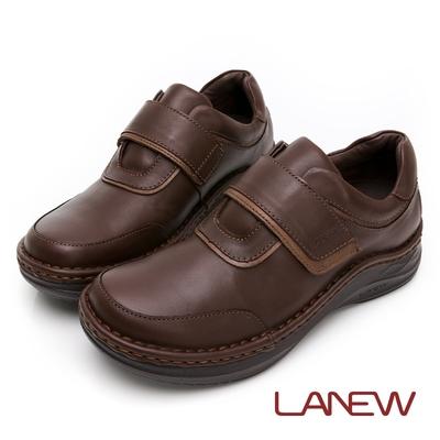LA NEW DOUBLE AIR 氮氣墊 抑菌手縫休閒鞋(男227010200)