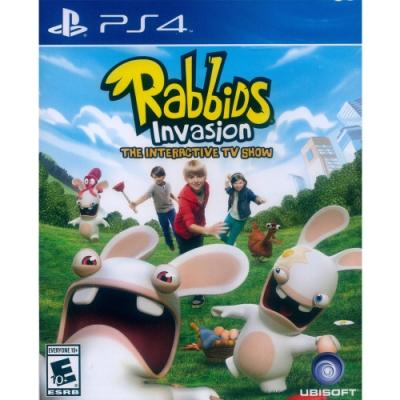 瘋狂兔子全面侵略 TV 互動遊戲 Rabbids Invasion - PS4 英文美版