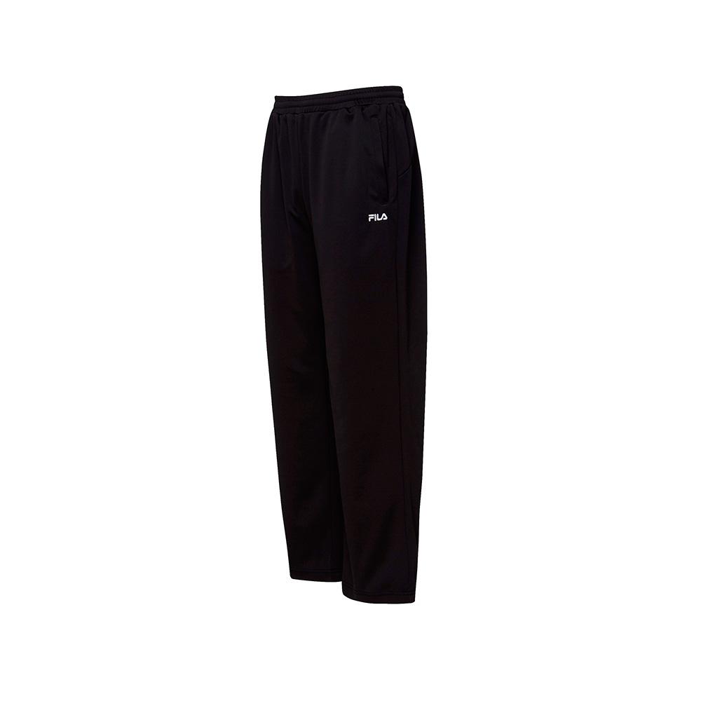 FILA 男款吸濕排汗長褲-黑色 1PNT-1477-BK