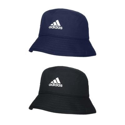 ADIDAS 漁夫帽-純棉 防曬 遮陽 運動 帽子 愛迪達「H36810」 H36812 丈青白