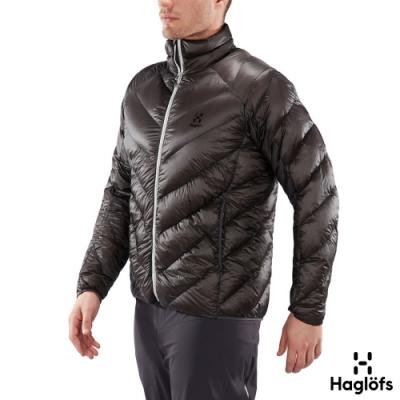 季末降價↘Haglofs 男 L.I.M Essens 極輕 保暖 羽絨外套 石板色