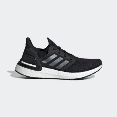 ADIDAS ULTRABOOST 20 W 女慢跑鞋-黑-EG0714