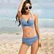 Biki比基尼妮泳衣,霧藍變化美二件式泳衣泳裝比基尼(M-2XL) product thumbnail 1