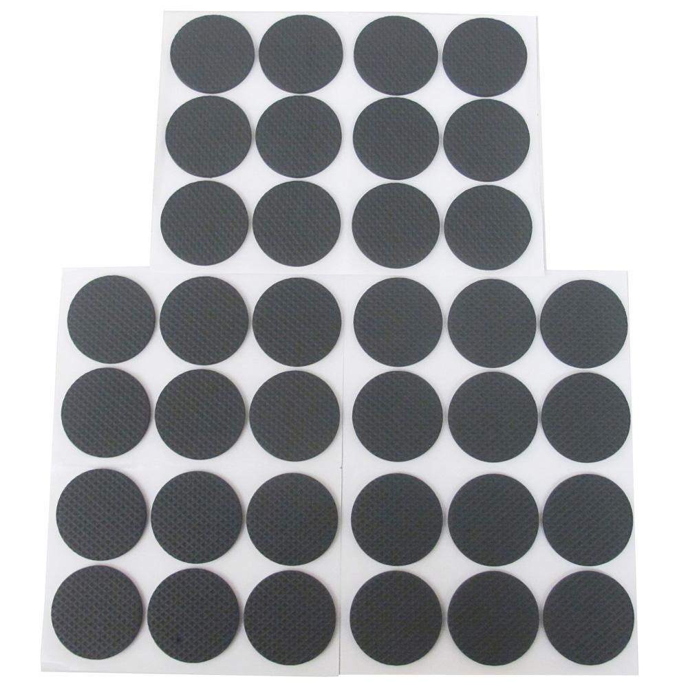 月陽加厚圓型4.5cm消音桌腳墊/止滑墊/椅腳墊 超值36入(R4536)
