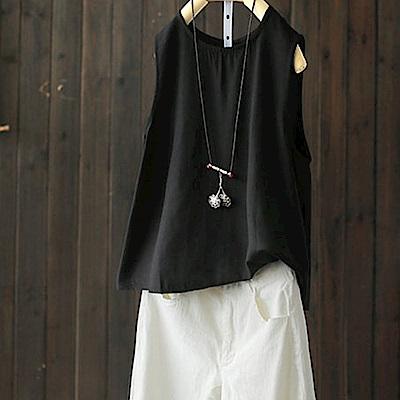簡約絲滑人棉吊帶背心無袖T恤內搭上衣-設計所在
