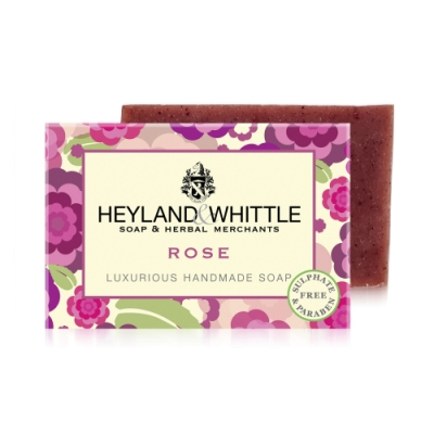 *H&W英倫薇朵 英倫玫瑰手工香氛皂120g