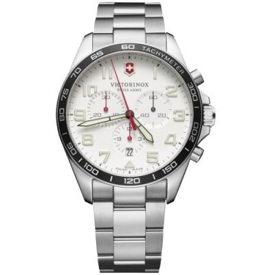 VICTORINOX瑞士維氏Fieldforce計時手錶(VISA-241856)