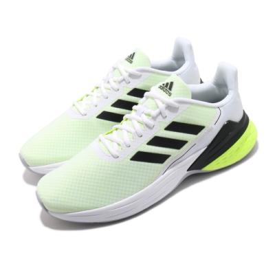 adidas 慢跑鞋 Response SR 運動休閒 男鞋 愛迪達 路跑 緩震 透氣 輕量 基本款 白 綠 FY9154