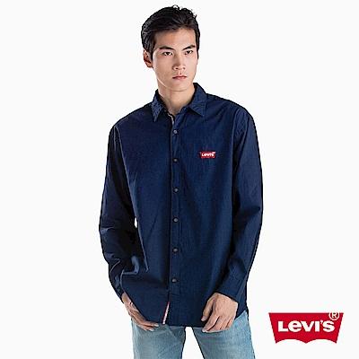 Levis 男款 襯衫 寬鬆長版 Logo刺繡 建議比平常尺寸小一號