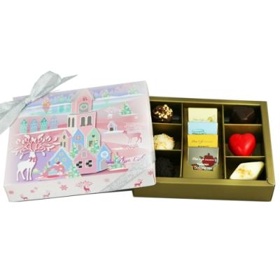 Diva Life 冬季限定 紫饌巧克力禮盒 10入裝
