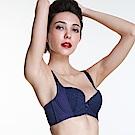 黛安芬-美型嚴選系列包覆美型 B-E罩杯內衣 深藍