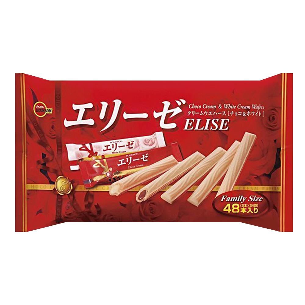 Bourbon北日本 巧克力威化-家庭包(172.8g)